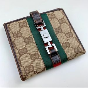 Gucci Stripe Wallet